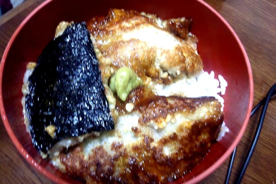 ビンボーだけど「うな丼が食べたい」というわけで『フェイクうな丼』を作ってみた