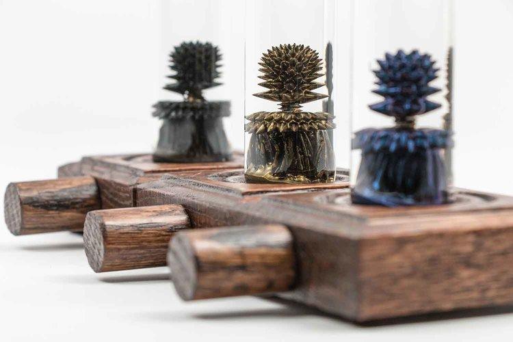 磁性流体(Ferrofluid)の動きが面白い『Nano Tree』 開発のきっかけ ...